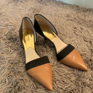 Michael Kors women leather pump size 8.5